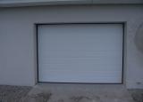 Alutech Basisport  2410 x 2085 mm M-Panel glat Hvid Ral 9016